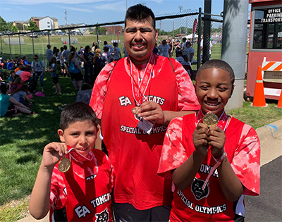 EA shines at Special Olympics State Summer Games